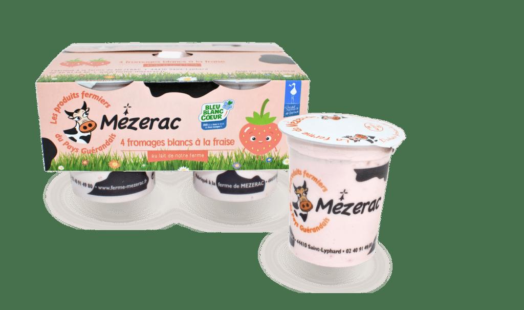 fromage-blanc-fraise-ferme-mezerac