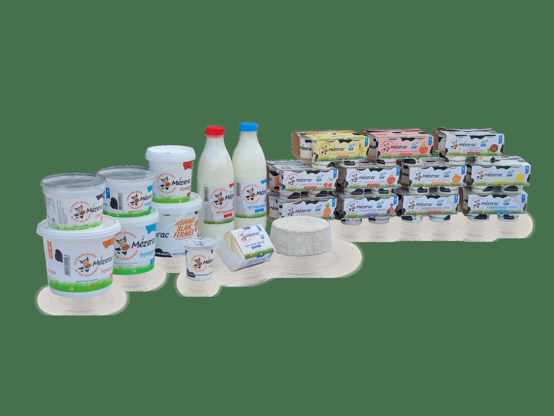 produits-laitiers-fermiers-ferme-mezerac-pays-de-guerande